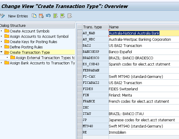 how to create a bank statement