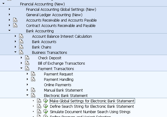 Electronic Bank Statement