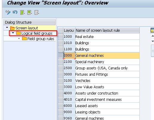 Define Screen Layout for Asset Master Data | S_ALR_87009044