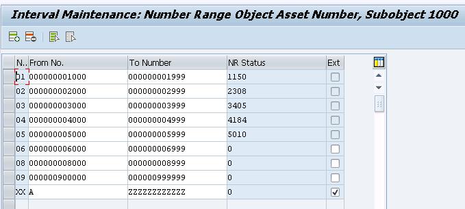 Define Asset Number Range Intervals As08