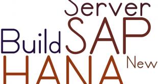 New SAP HANA Training Server Build