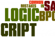 SAP BPC Common Mistakes in Logic Script