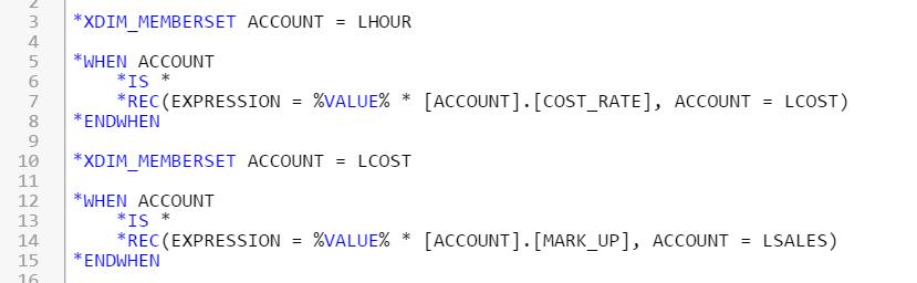 SAP BPC Common Mistakes in Logic Script