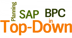 Top-Down Planning in SAP BPC