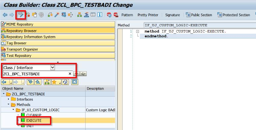 SAP BPC BADI - Quick Tutorial for Newbies