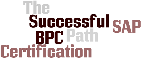 SAP BPC Certification - The Successful Path