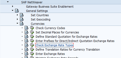 When You Open The Transaction Click On New Entries If Want To Create Exchange Rate Type Otherwise Maintain Already Defined Types